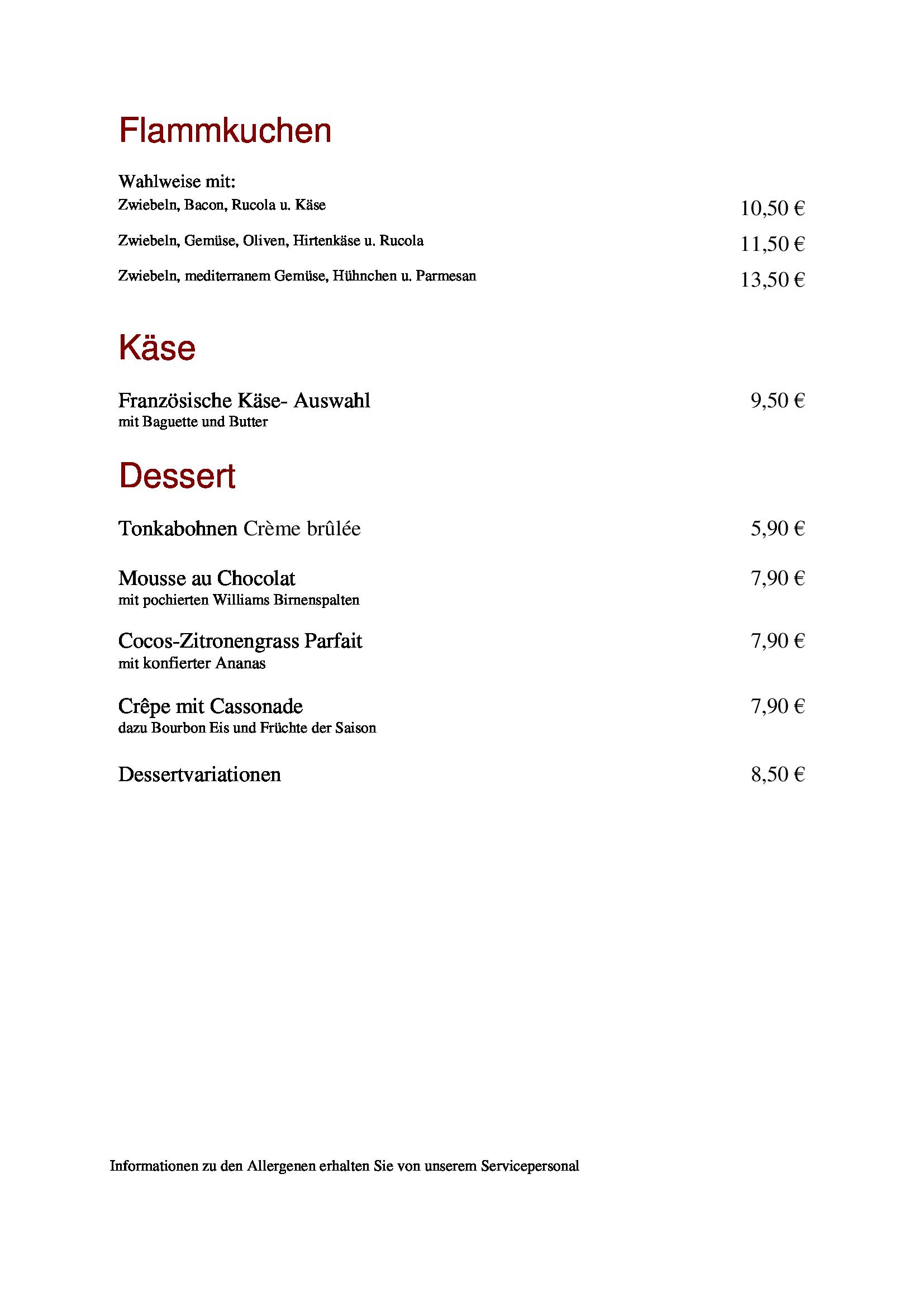 Dessert neu